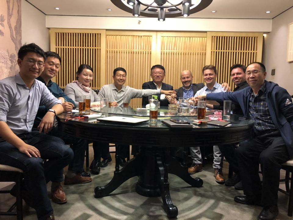 China EV team