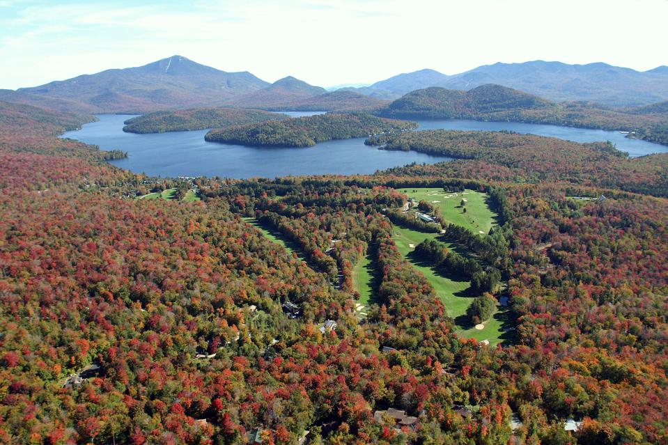 The Lodge represents one of the grandest properties in the Adirondacks.