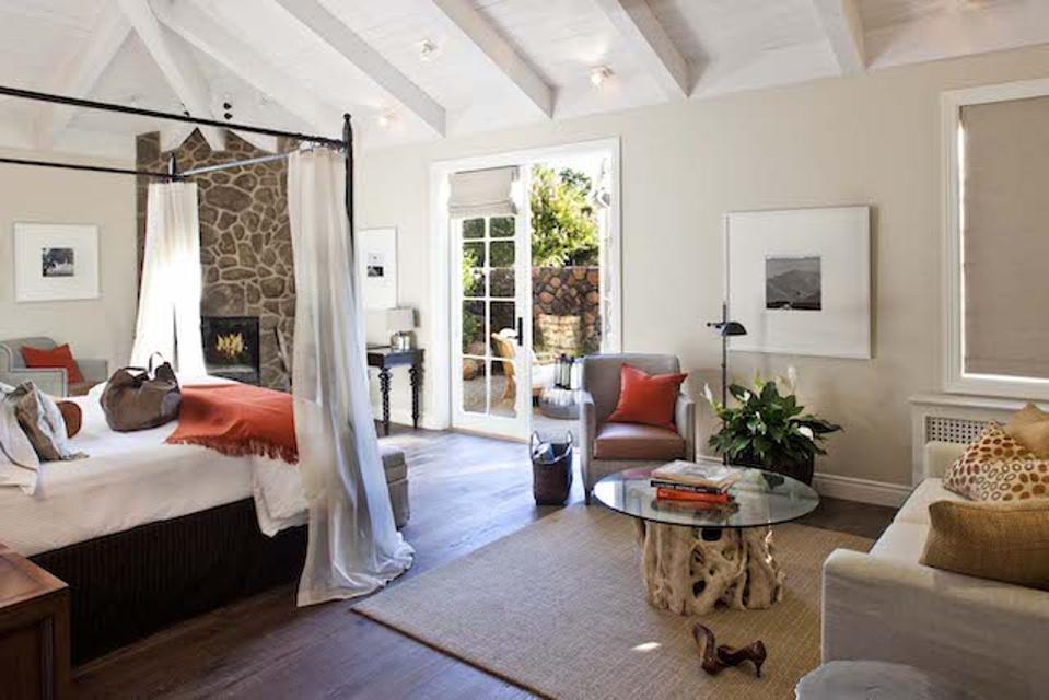 Premium guestroom at Hotel Yountville