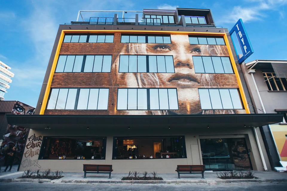 Exterior shot of Tryp Fortitude Valley Hotel