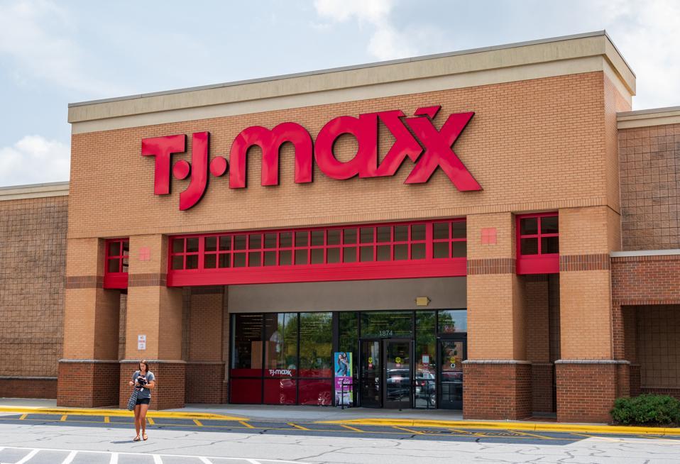 T.J.Maxx storefront