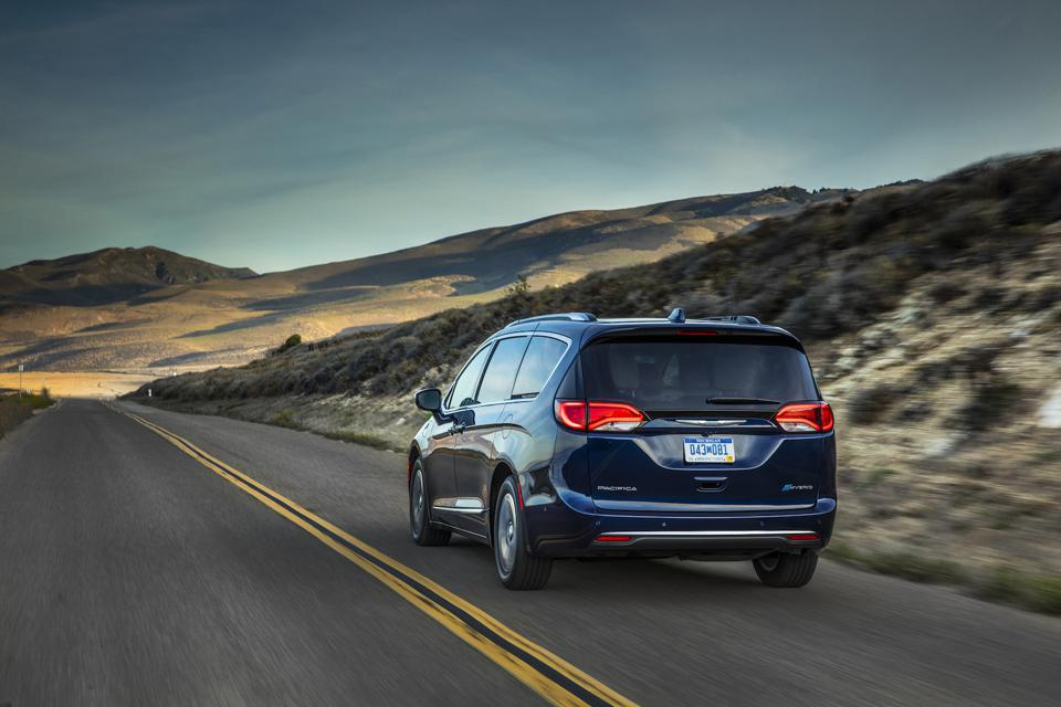 Minivan Sales Continue To Plunge - But Chrysler's Pacifica Hybrid Makes A Case For Keeping Them Going