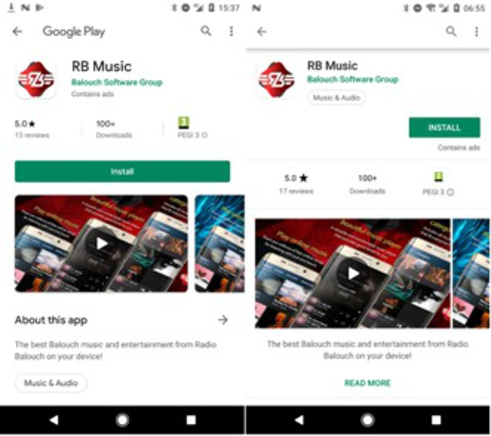 Radio Balouch spyware app ESET