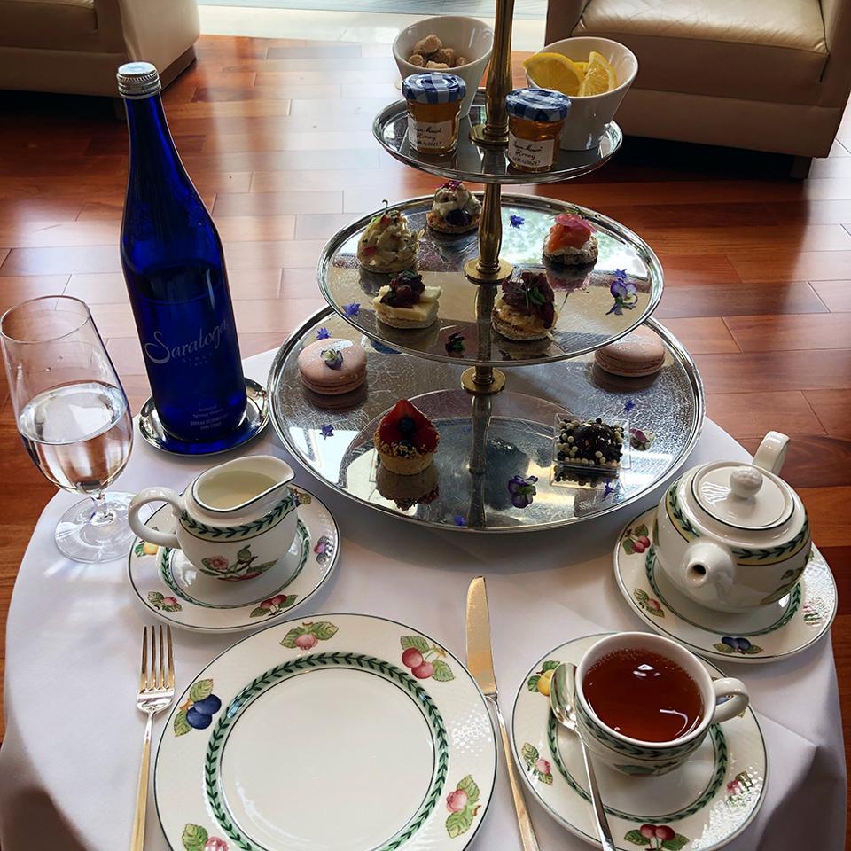 Tea in the Great Room