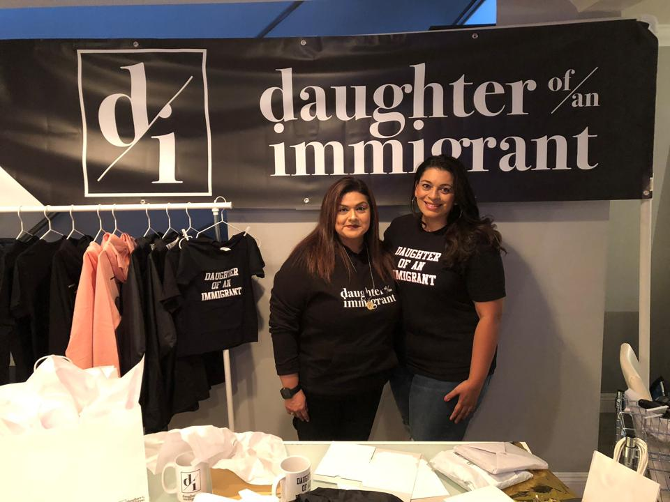 Leslie Garcia and Karen Garcia the founders of Daughter Of An Immigrant