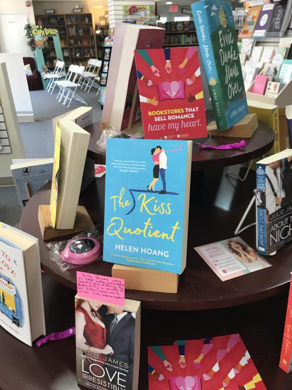 bookstore romance day books the kiss quotient helen hoang hooray for books alexandria virginia