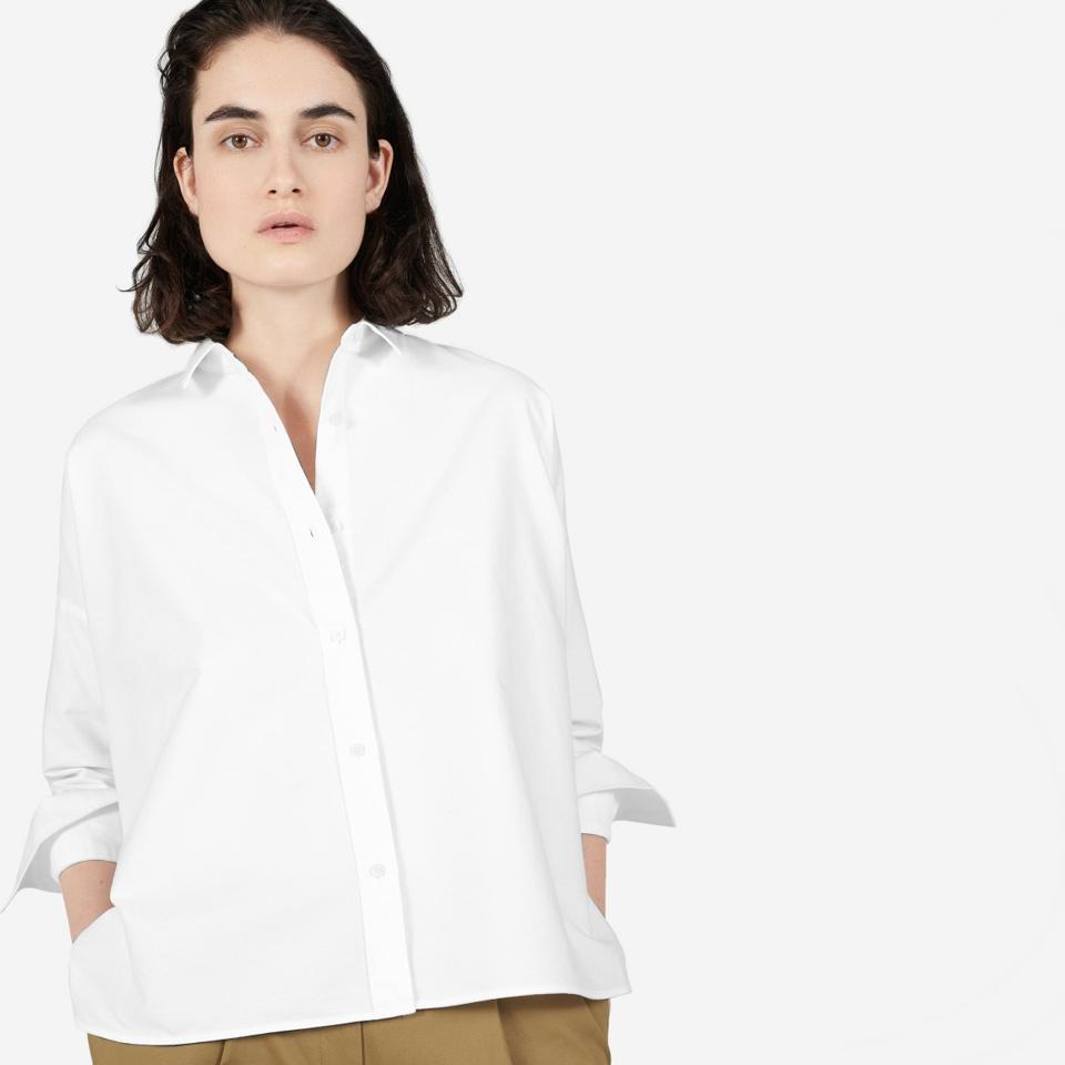 Everlane Japanese Oxford Square Shirt
