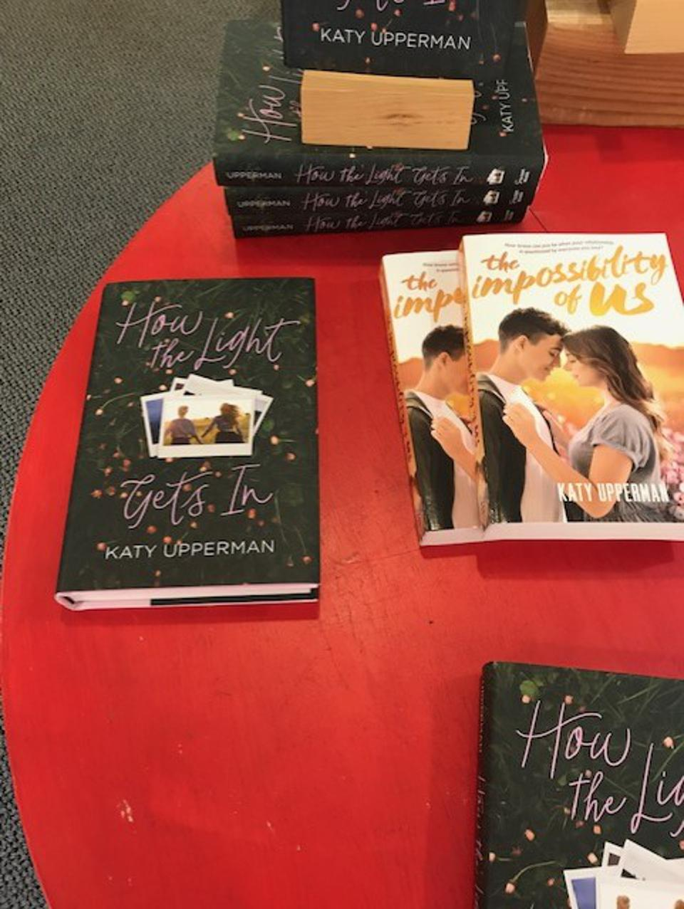 katy upperman young adult bookstore romance day hooray for books alexandria virginia