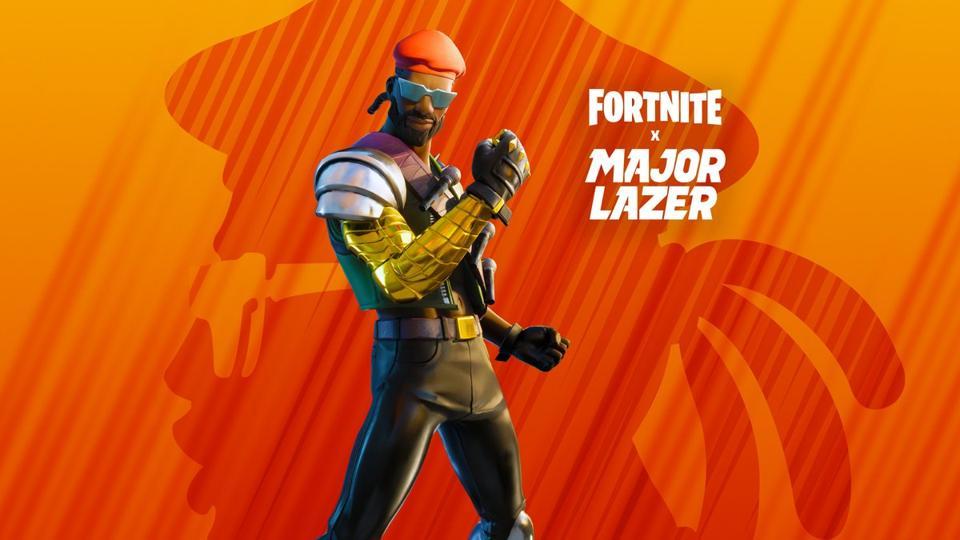 Fortnite X Major Lazer