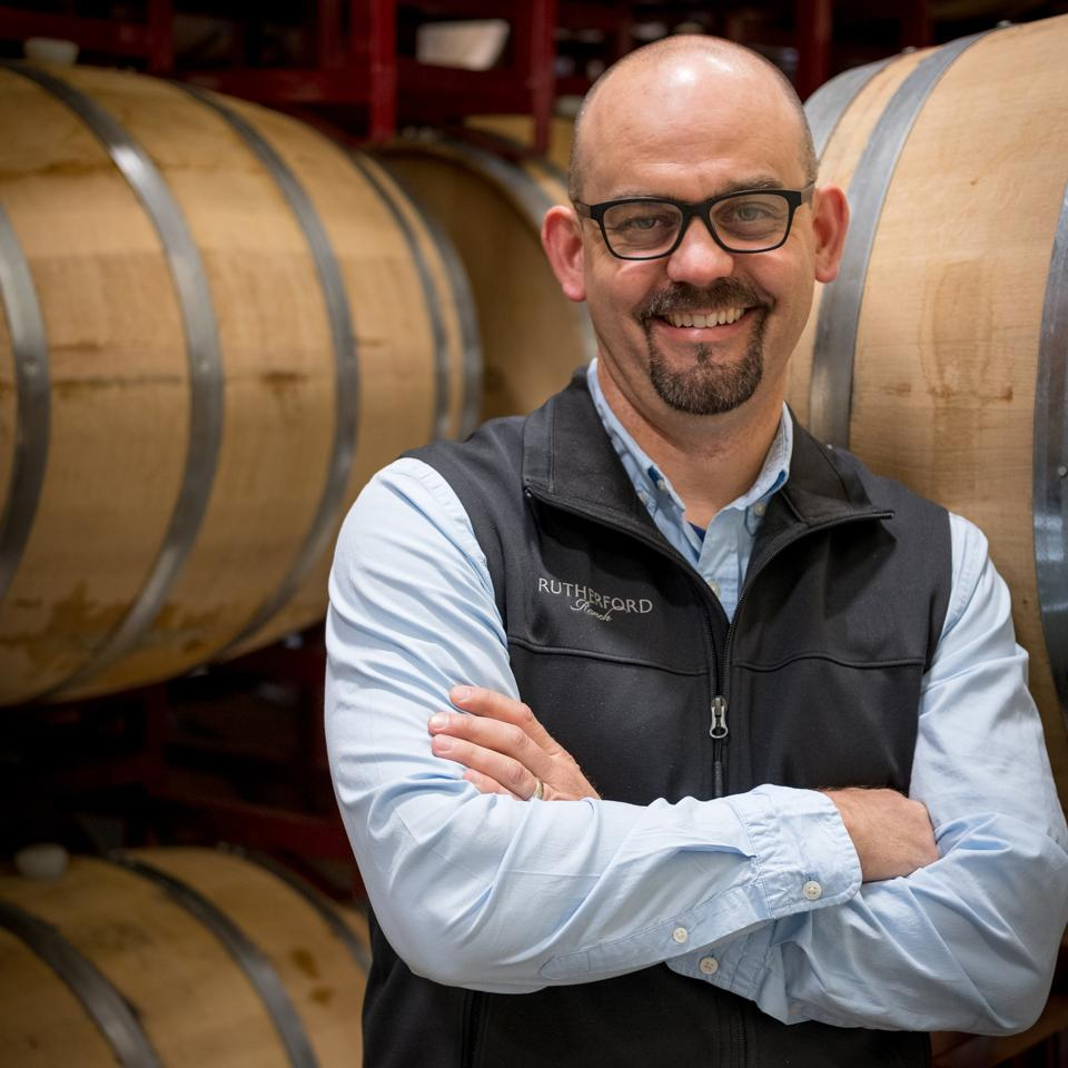 Jay Turnipseed, viticulteur à la Rutherford Wine Company
