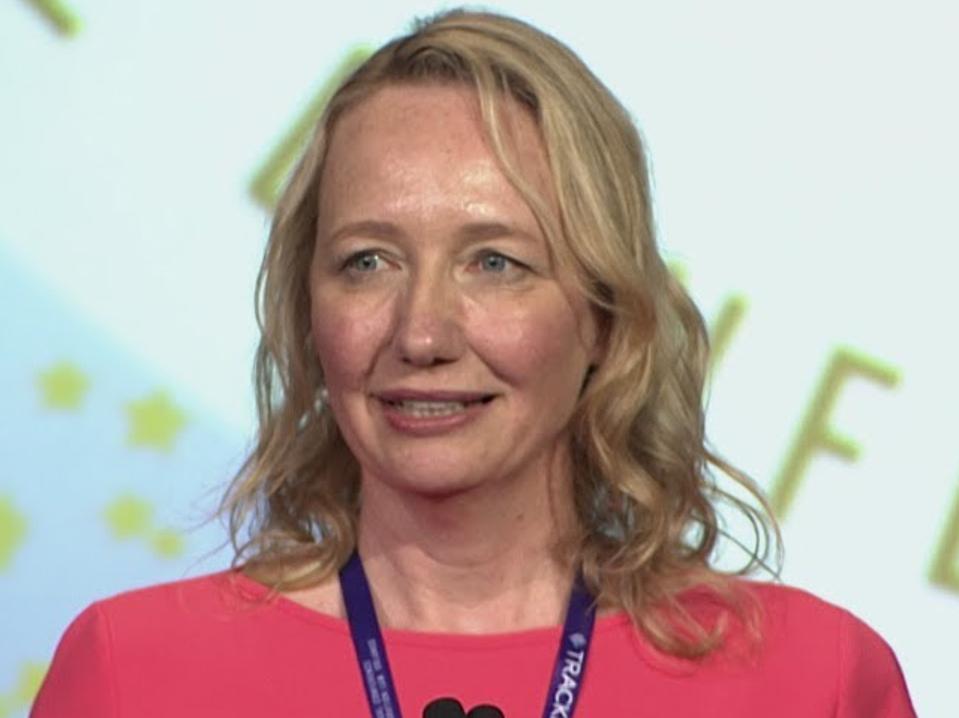 Marketa Lindt, az amerikai bevándorlási ügyvédek szövetségének elnöke.