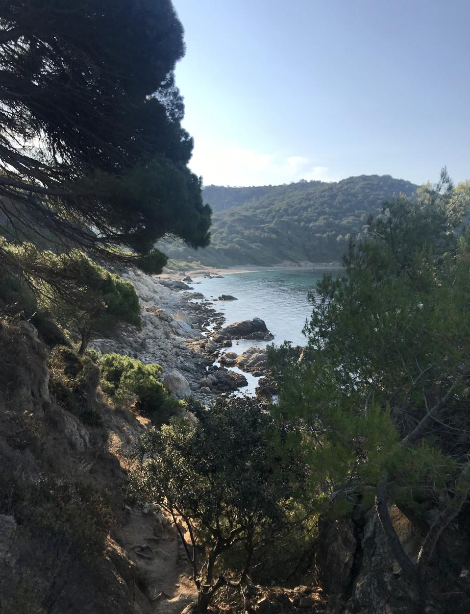 Cap Lardier and The Sentier of Littoral