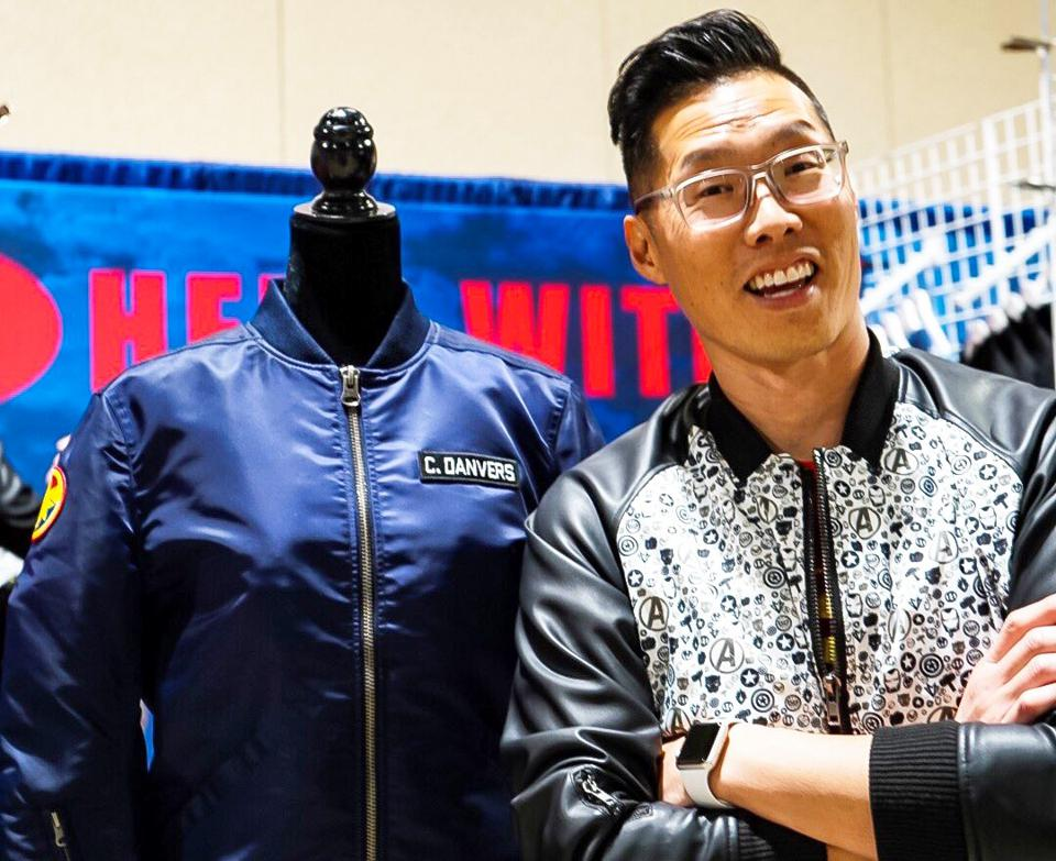 Tony Kim, Hero Within apparel