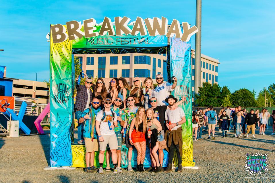 Breakaway Music Festival in Charlotte.