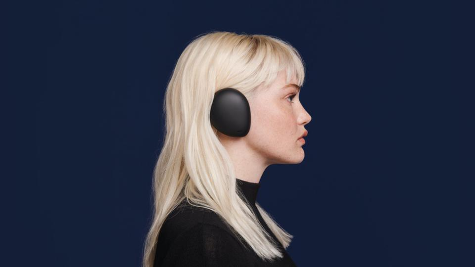 These Human Headphones Are Half Earphone, Half Headphone. They Also Speak 11 Languages