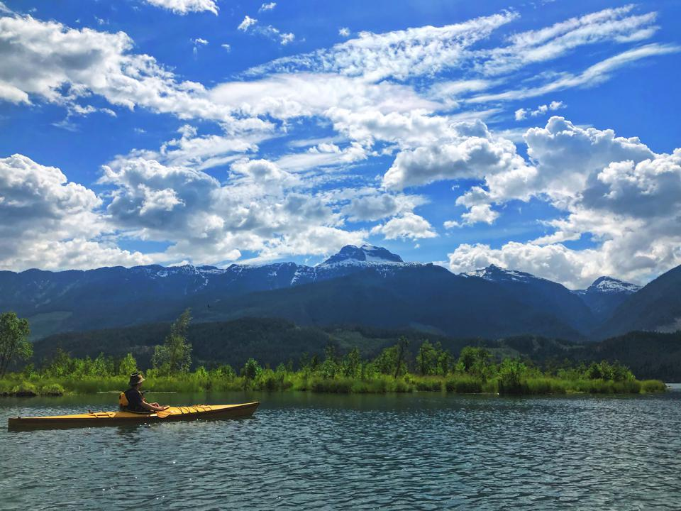 Get out on the lake in Revelstoke with Natural Escapes Kayaking.