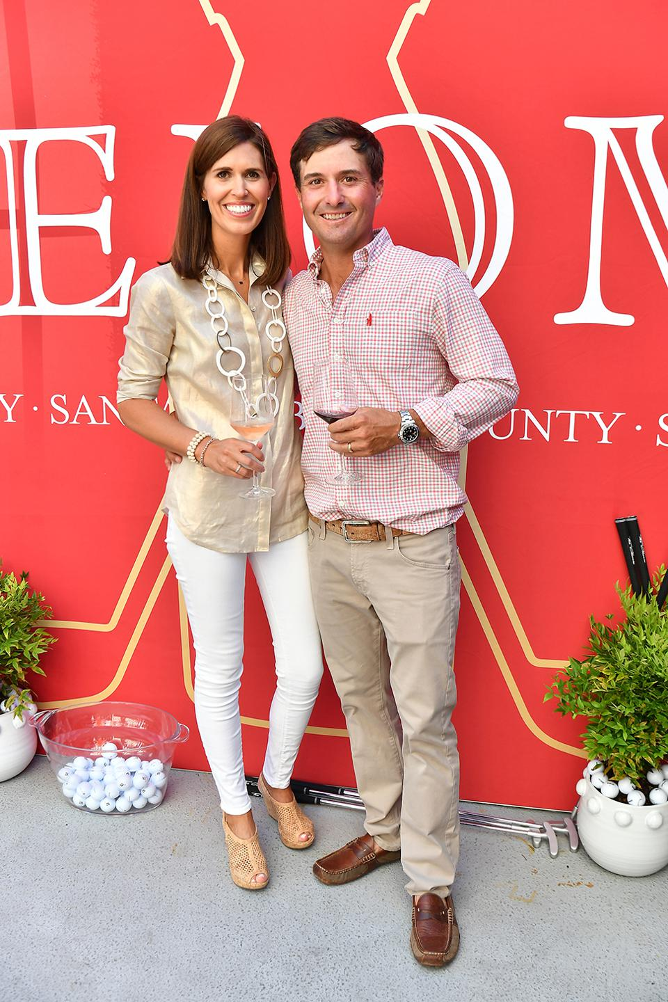 Kevin Kisner and his Wife, Brittany