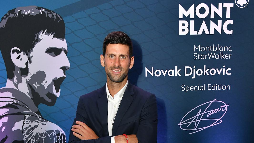 Montblanc, Novak Djokovic Unveil Limited Edition Writing Instrument
