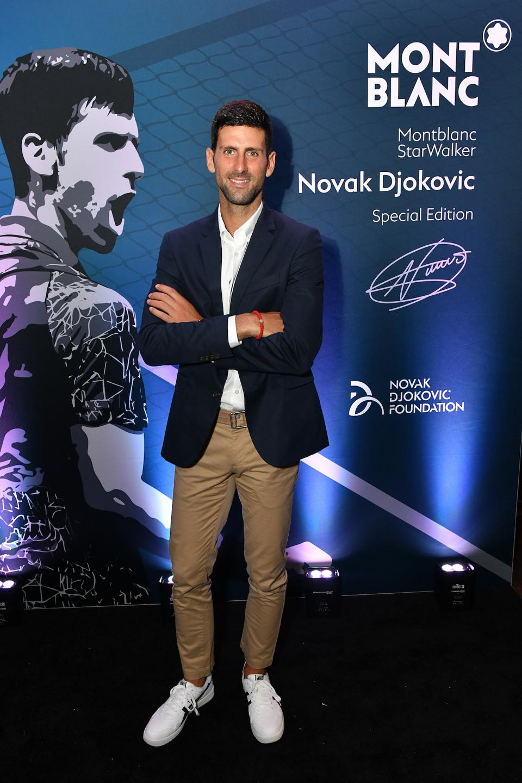 Montblanc, Novak Djokovic