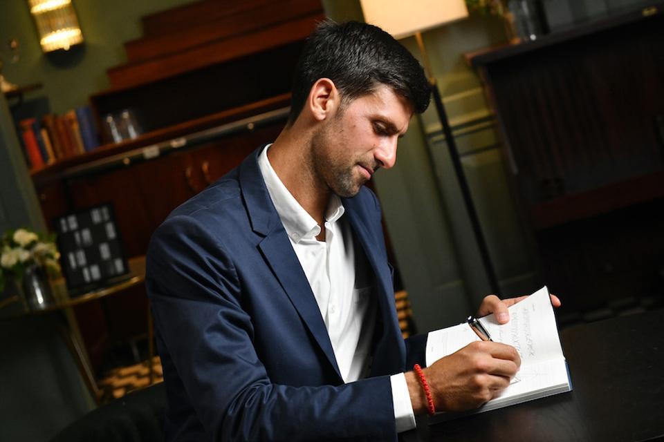 Novak Djokovic, Montblanc