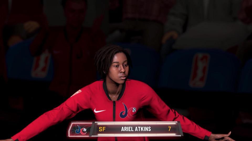 NBA 2K20 WNBA Inegration