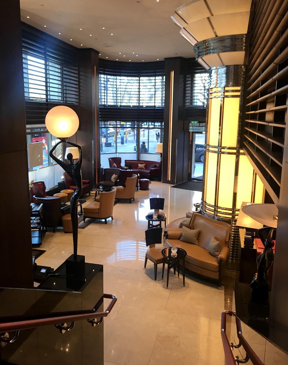 Lobby at 45 Park Lane