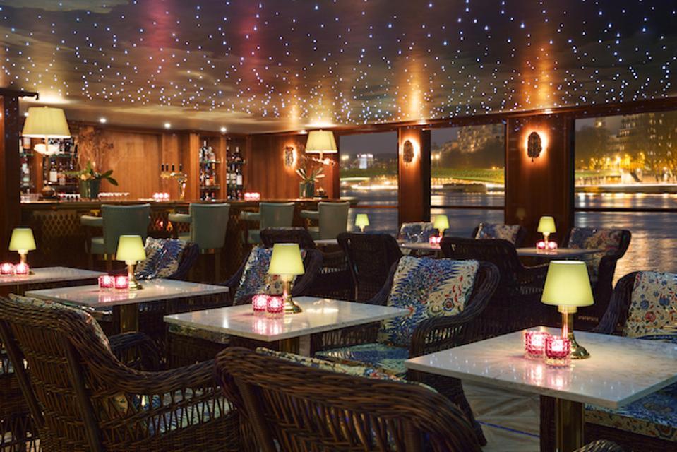 Claudes Restaurant on S.S. Joie de Vivre