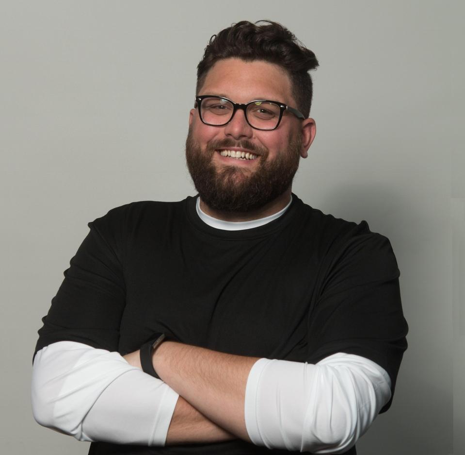 Talk show host Josh Innes