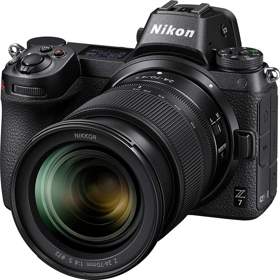 The Z7 represents a new product line for Nikon