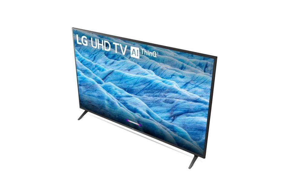 LG UM7300 4K 43-inch TV.