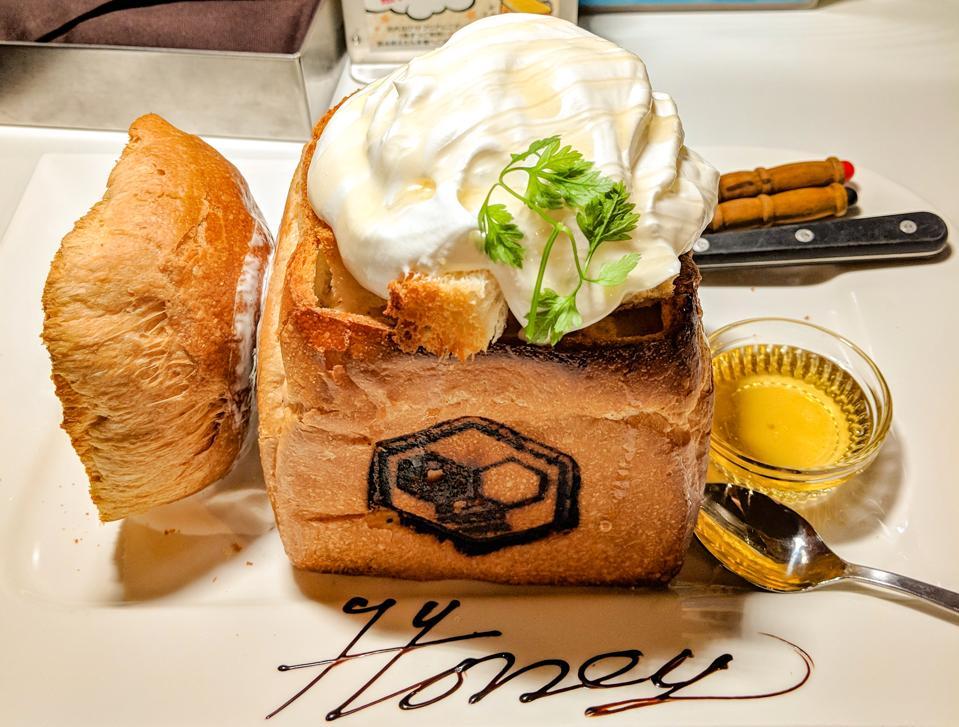 Honey Toast Cafe honey toast