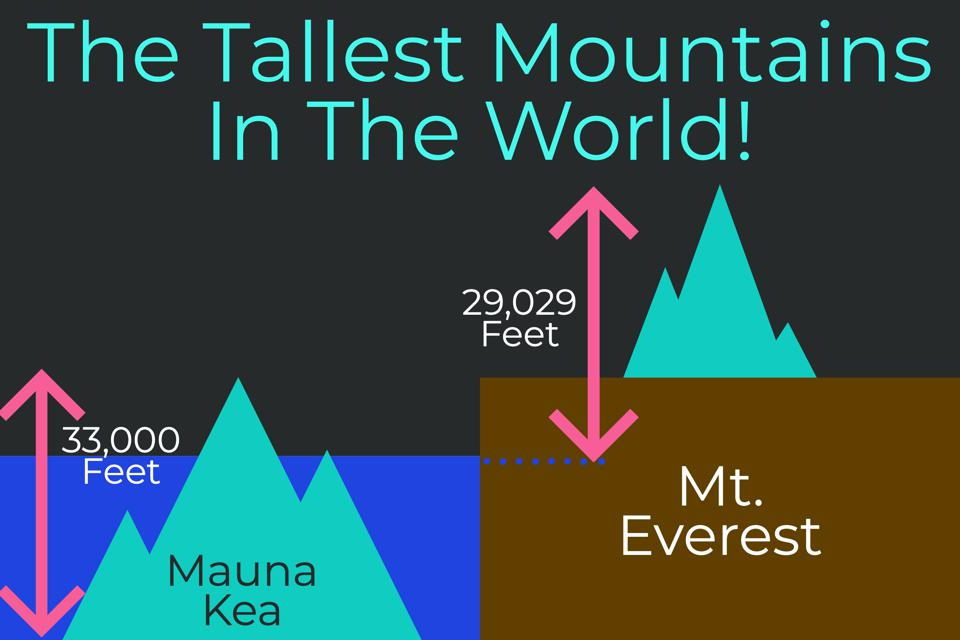The World's Tallest Mountain & A Few Fun Facts