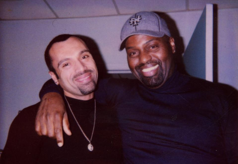Frankie Knuckles and David Morales