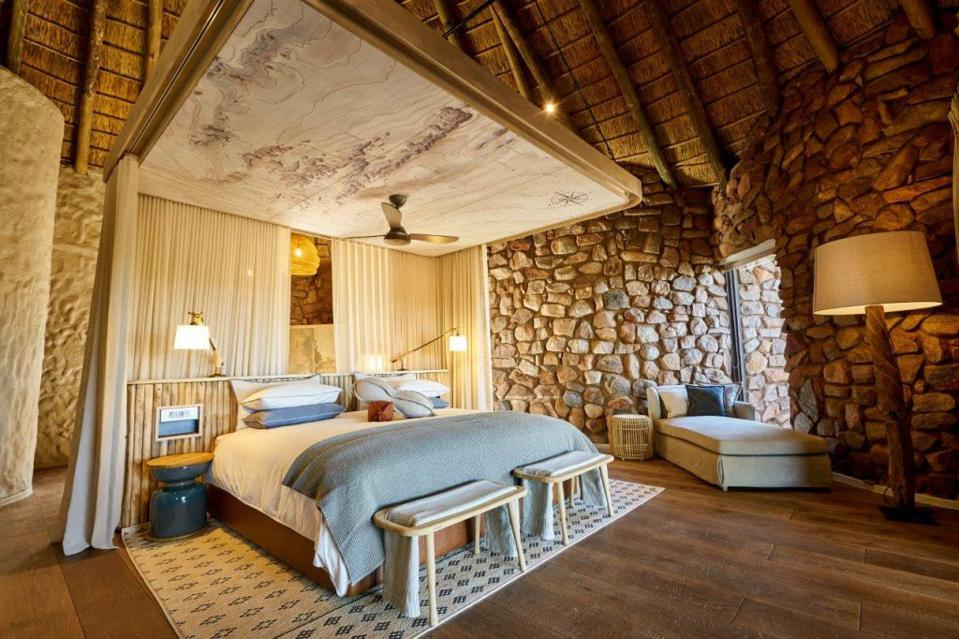 Tswalu safari lodge bedroom