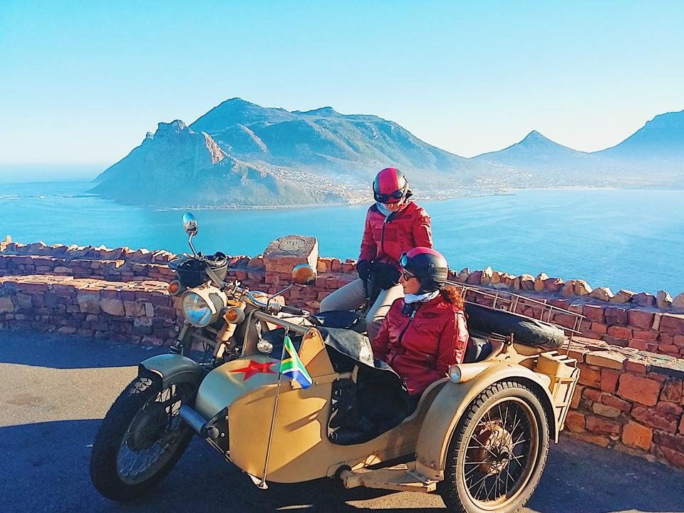 Get The Best Views Of South Africa From A Retro Motorcycle