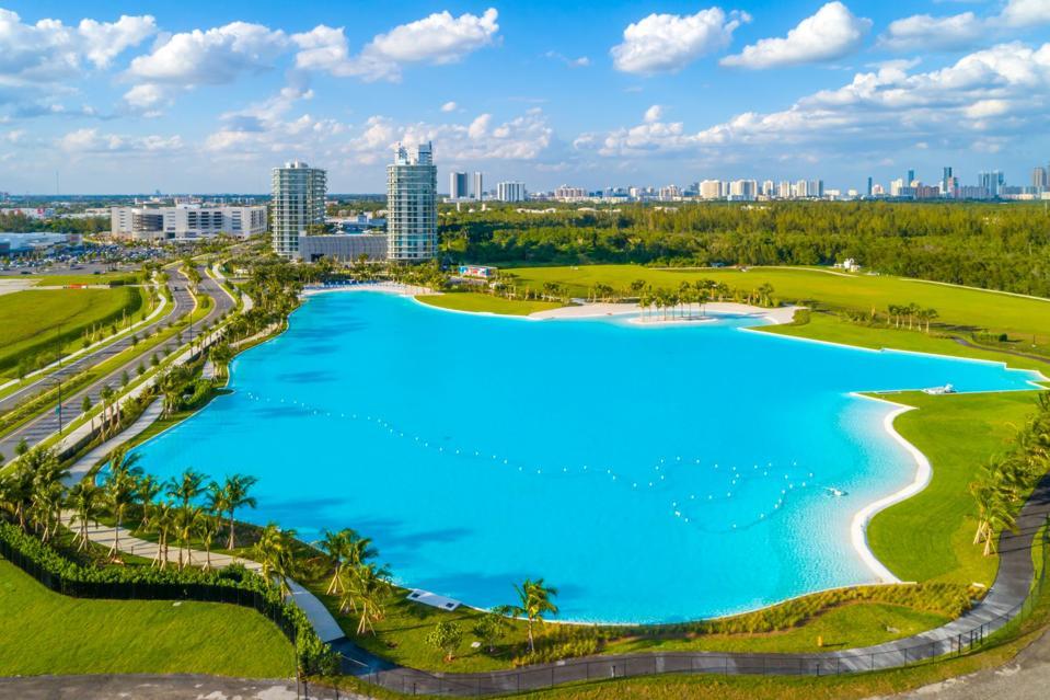 Sole Mia's lagoon