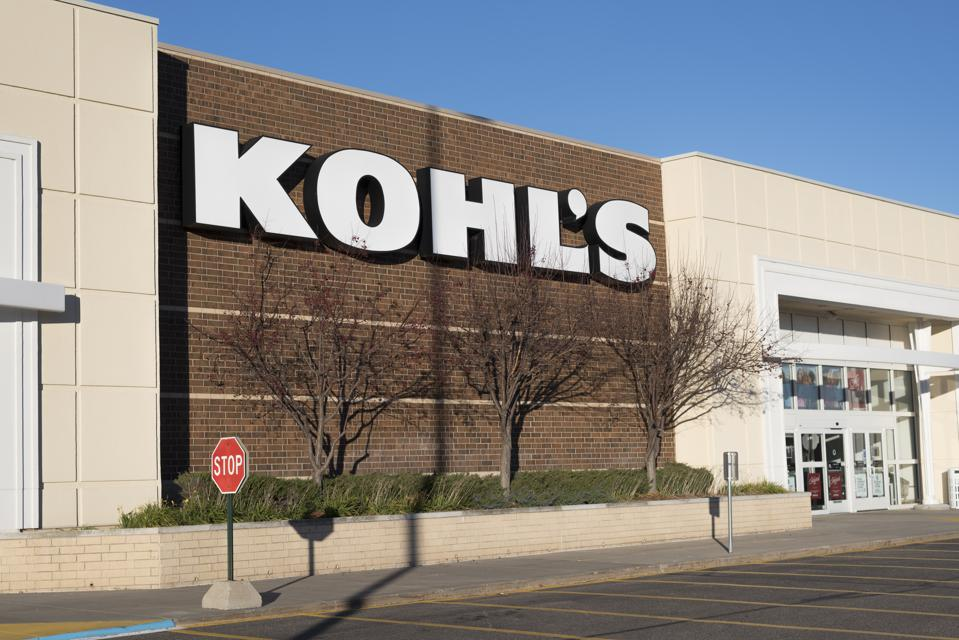 Exterior of Kohl's department store
