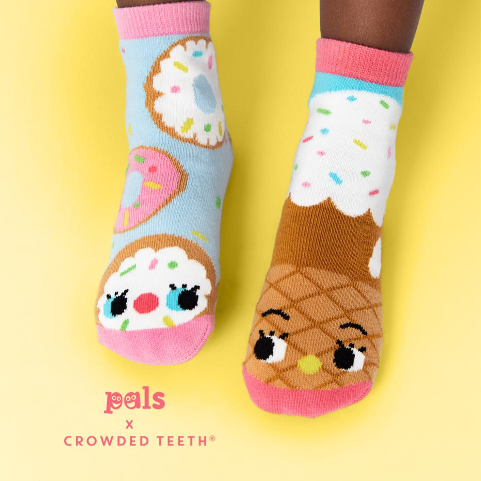Donut and Ice Cream Socks From Pals Socks