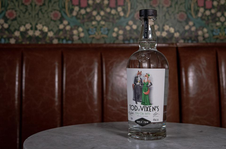 The debut release from new Hudson Valley craft distillery.