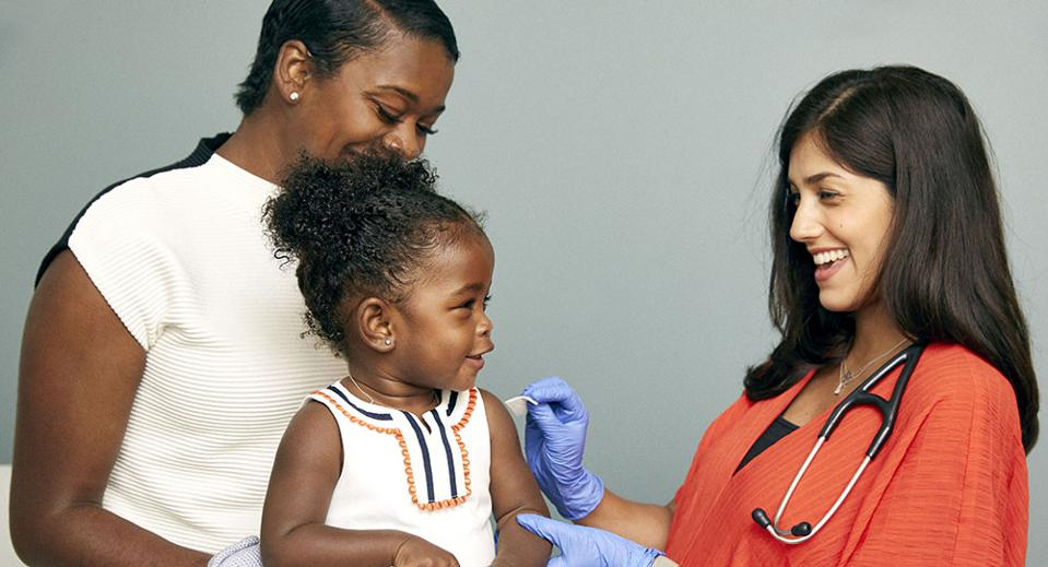 The percentage of unvaccinated children under two has quadrupled in the last 18 years, according to the CDC.