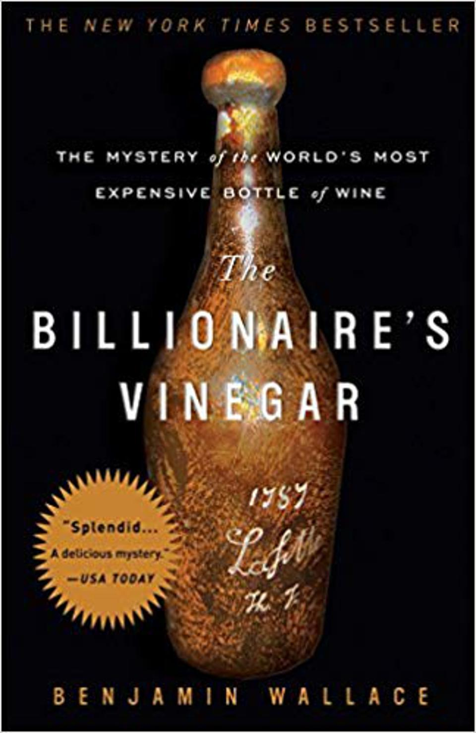 The Billionaire's Vinegar_Essential Reads For Wine Enthusiasts