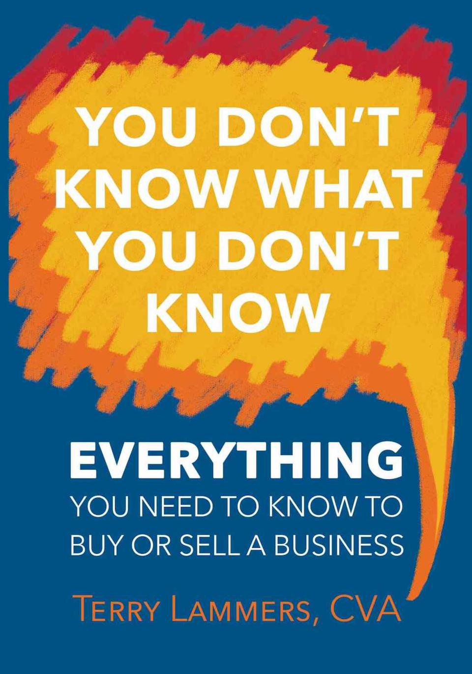 You Don't Know What You Don't Know: Everything You Need to Know to Buy or Sell a Business by Terry Lammers