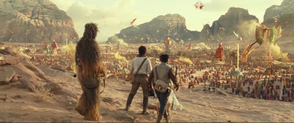 The New Star Wars The Rise Of Skywalker Trailer Is Visually Stunning