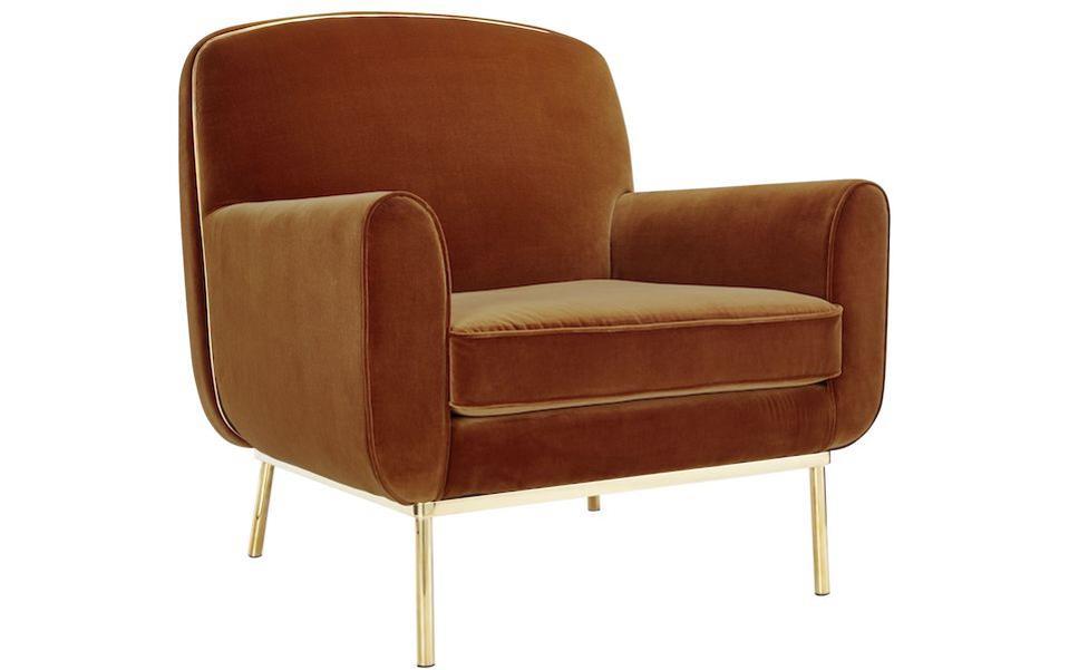 Halo velvet chair