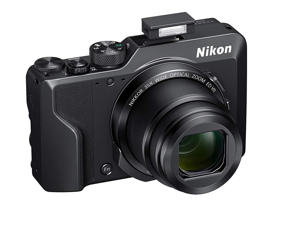 The Nikon A1000 fits in a pocket