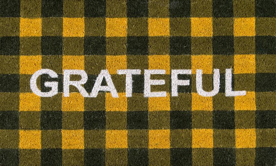 Novogratz Grateful Doormat