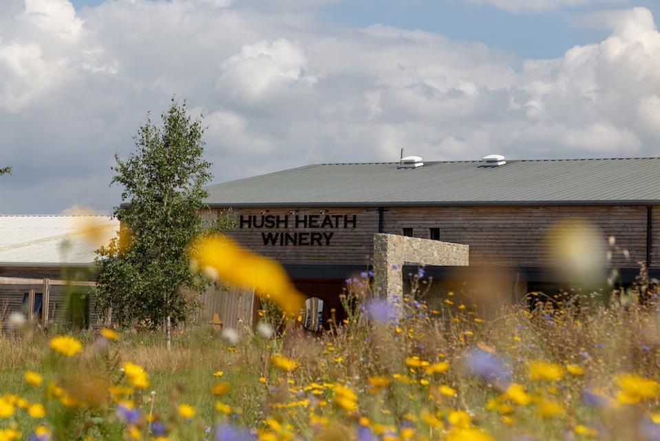 Hush Heath Winery visitor center