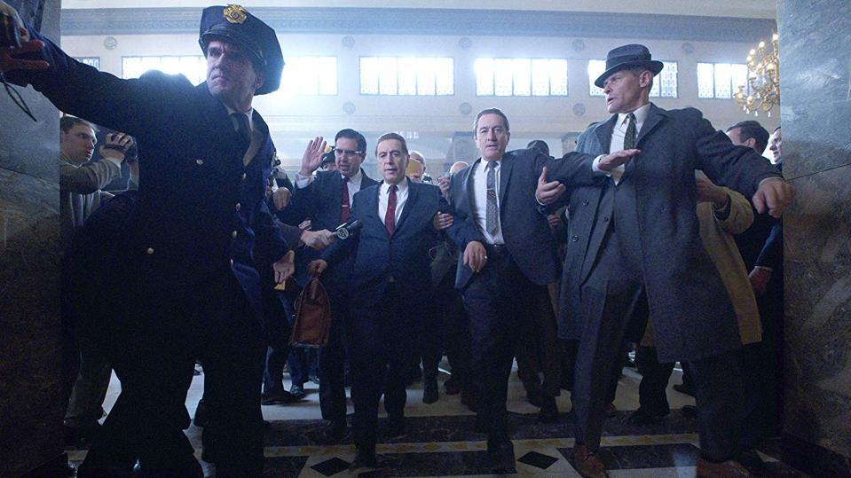 Robert DeNiro and Al Pacino in 'The Irishman'