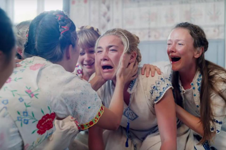 Protagonist Dani has an emotional experience in 'Midsommar'