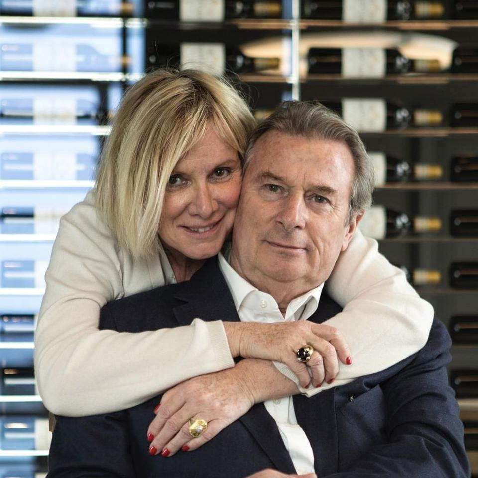 Françoise and Jacky Lorenzetti